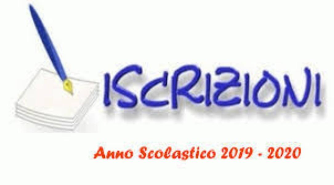 ISCRIZIONI CL. 1^ A.S. 2019/2020