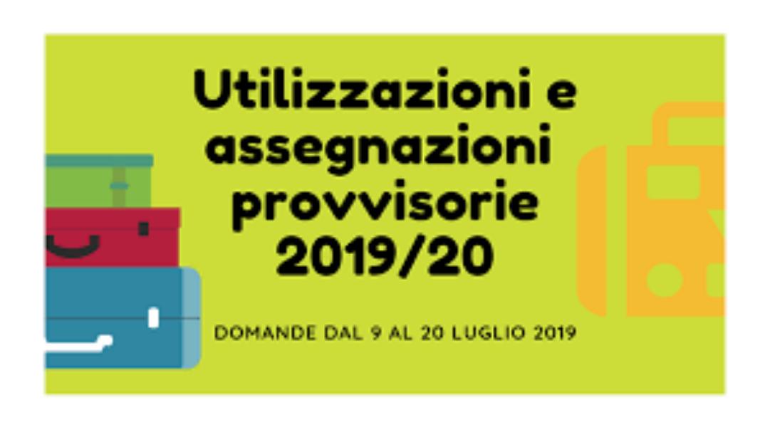 UTILIZZAZIONI E ASSEGNAZIONI PROVVISORIE A.S. 2...