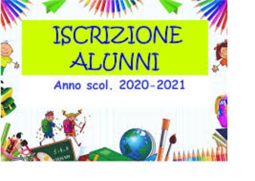 INFORMATIVA PROCEDURA ISCRIZIONI A.S. 2020/2021
